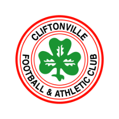 Cliftonville FC and Athletic club logo