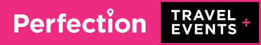 Perfection travel logo